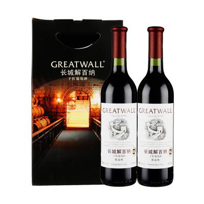 长城 解百纳干红葡萄酒优选级促销装