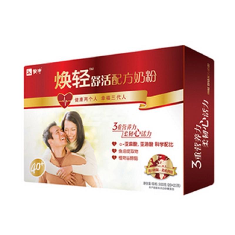 蒙牛 焕轻舒活配方奶粉 500g (20*25g)/盒