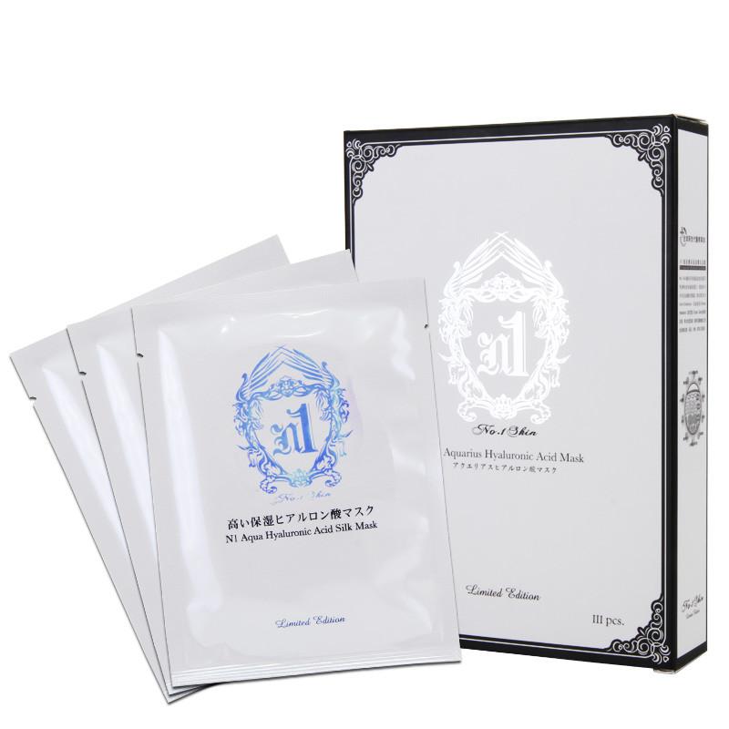 台湾地区进口 no:1skin n1玻尿酸高保湿医美面膜 3片