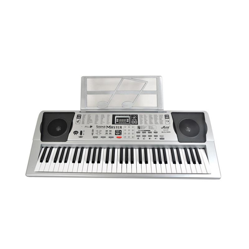 乐器/乐谱 弹拨乐器 美乐斯61键电子琴mls-999
