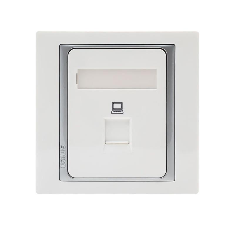 西蒙 信息插座 网络插座