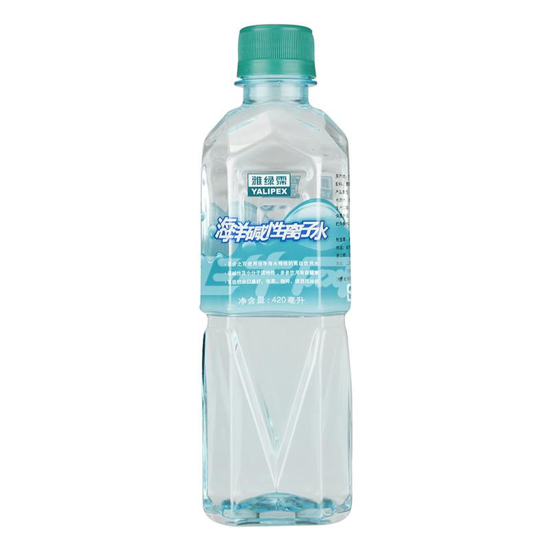 雅绿霈 海洋碱性离子水 420ml*30瓶 (台湾地区进口)