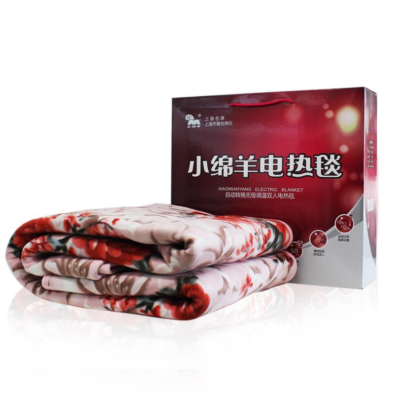 小绵羊 自动转换无级调温双人电热毯0226【价格