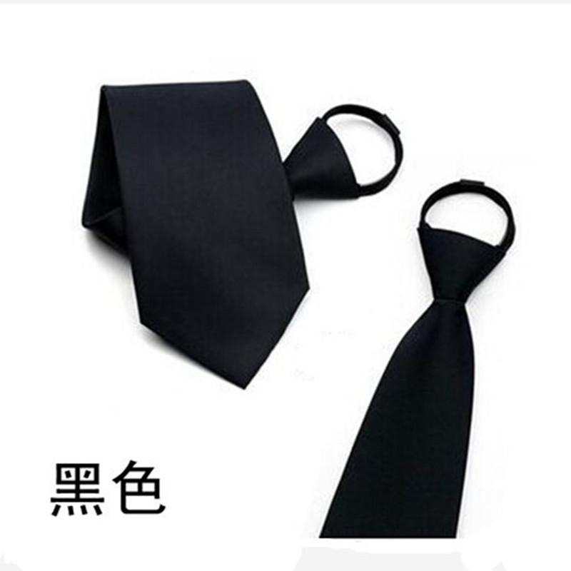 男士易拉得懒人领带商务正装职业领带