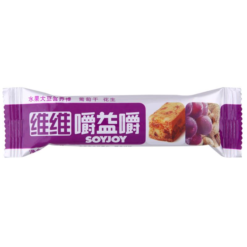 维维嚼益嚼能减肥_维维嚼益嚼 (葡萄干花生) 27克/支