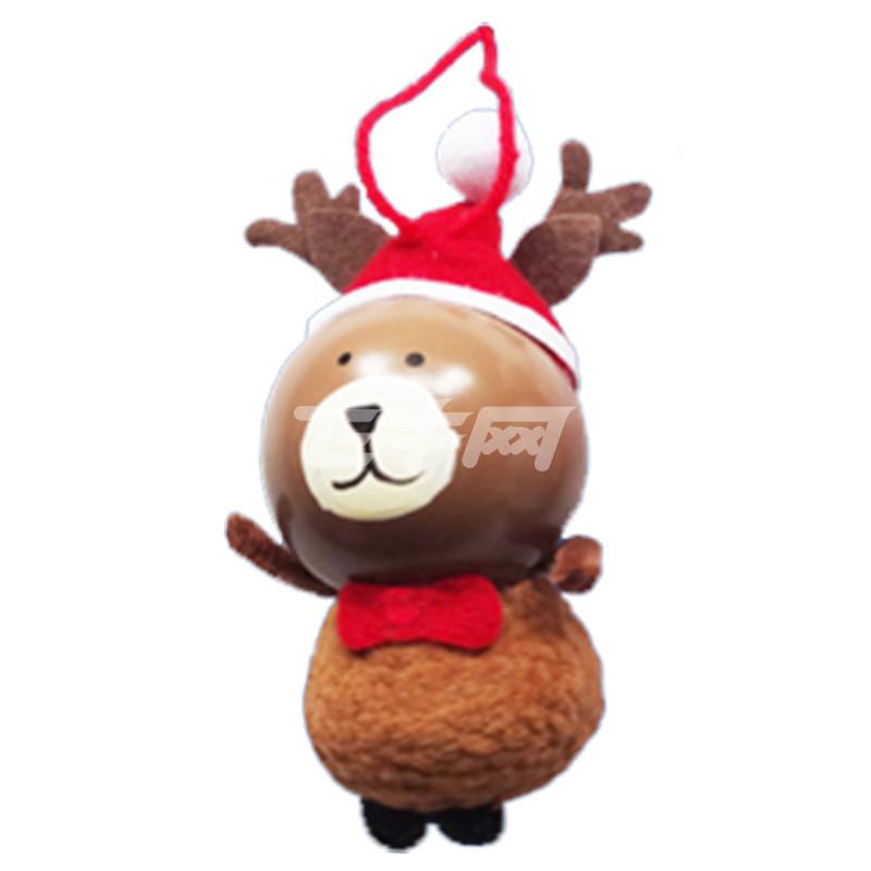 焕成 可爱布偶喷色球帽人物圣诞吊饰 x-5455
