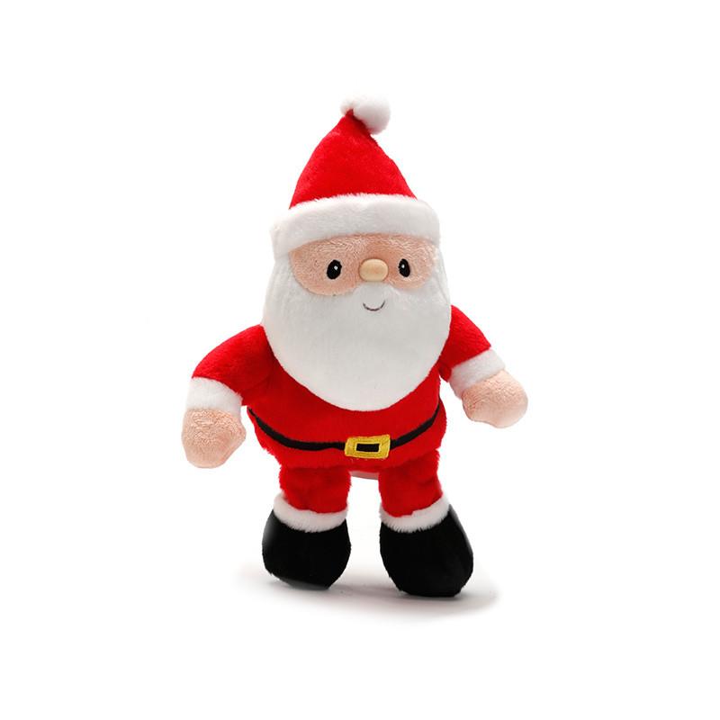 紫灿 圣诞老人玩偶公仔 小号