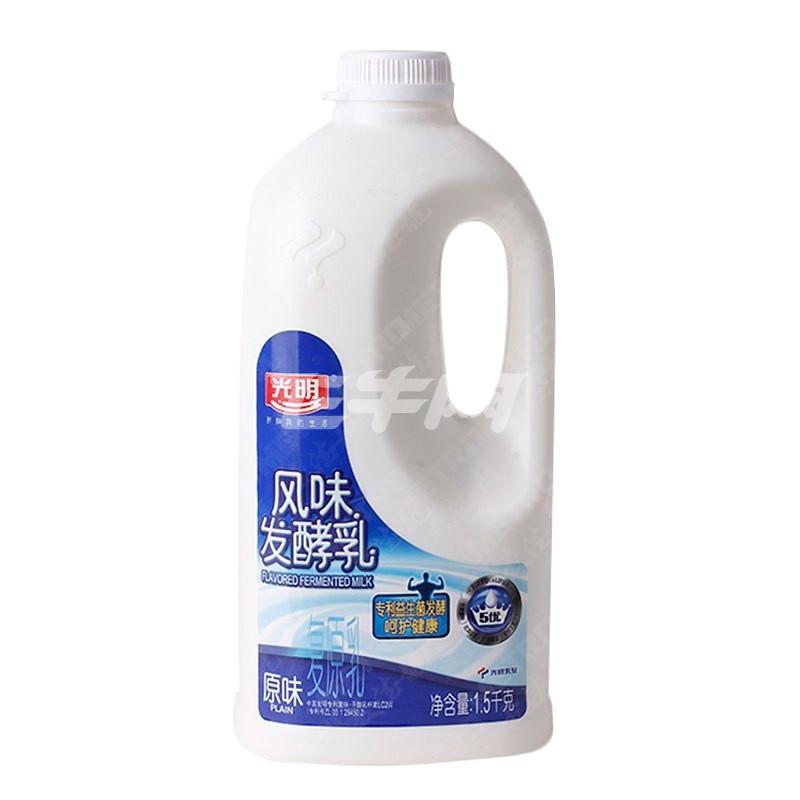 桶装风味酸牛奶 1.5千克/桶怎么样
