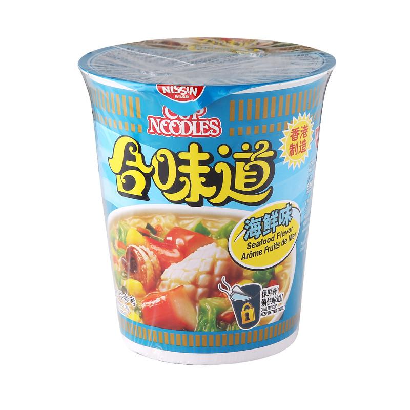 合味道海鲜味油炸方便面 75g/杯
