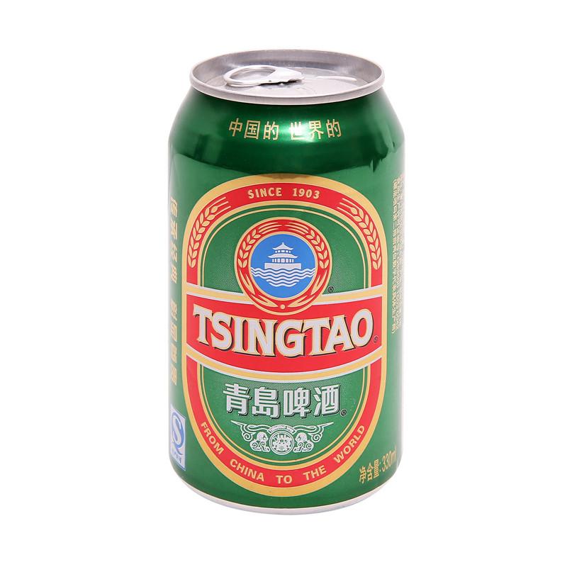 酒 啤酒 青岛(tsingtao)啤酒 青岛经典型12度330ml/听(欧美版)