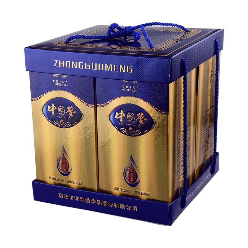 52度中国梦礼盒 480*4瓶/提