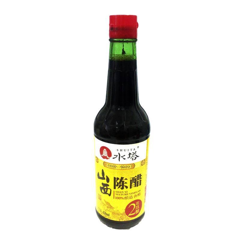 水塔山西陈醋2年陈酿420ml/瓶【价格
