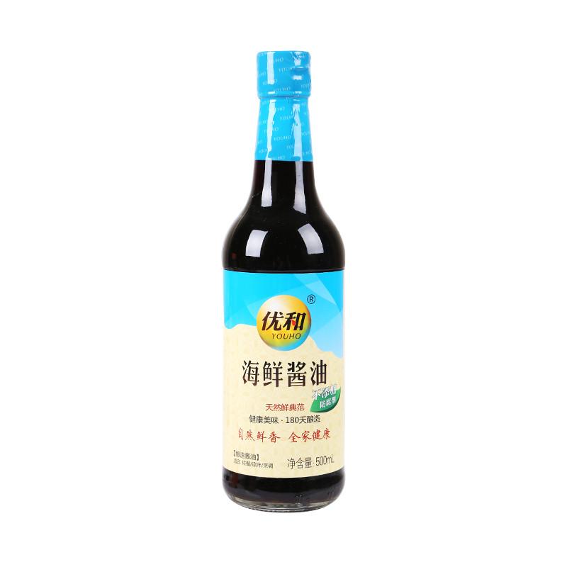 优和海鲜酱油500ml/瓶