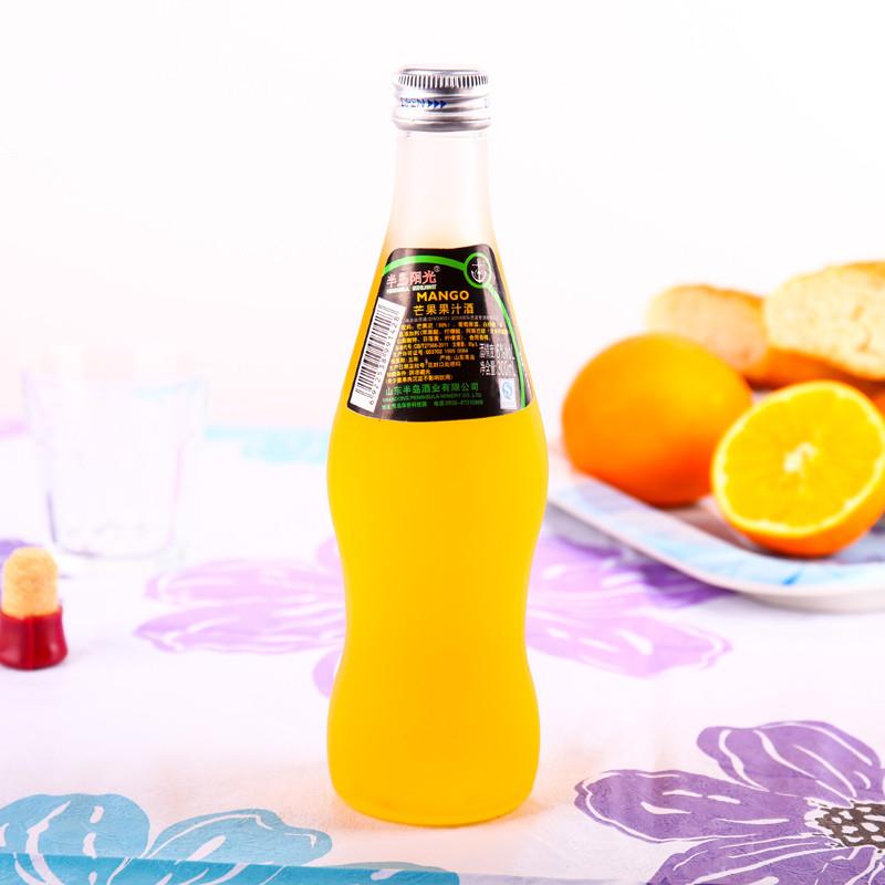 半岛阳光芒果果汁酒300ml/瓶