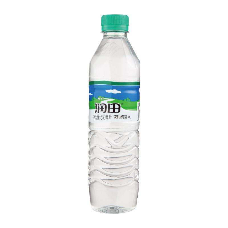 润田纯净水550ml/瓶【价格