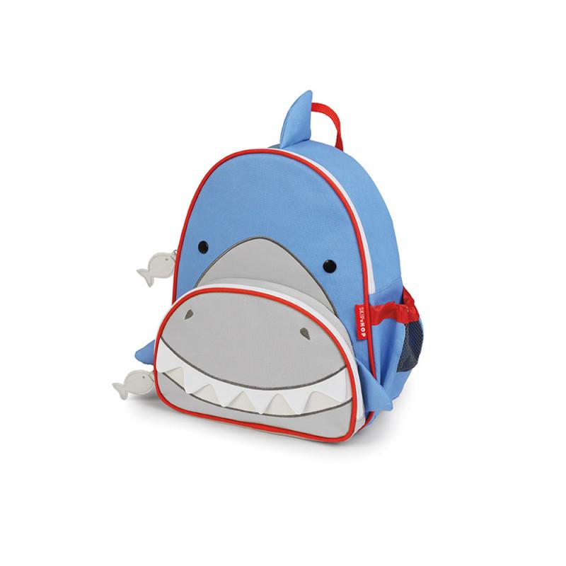 skip hop 可爱动物园小童背包—鲨鱼 儿童书包 双肩包