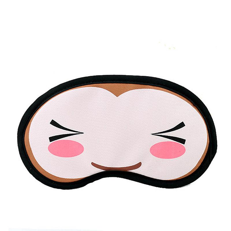 阔羽 个性可爱卡通睡眠遮光眼罩睡觉热敷眼罩消除眼疲劳用冰袋冰敷