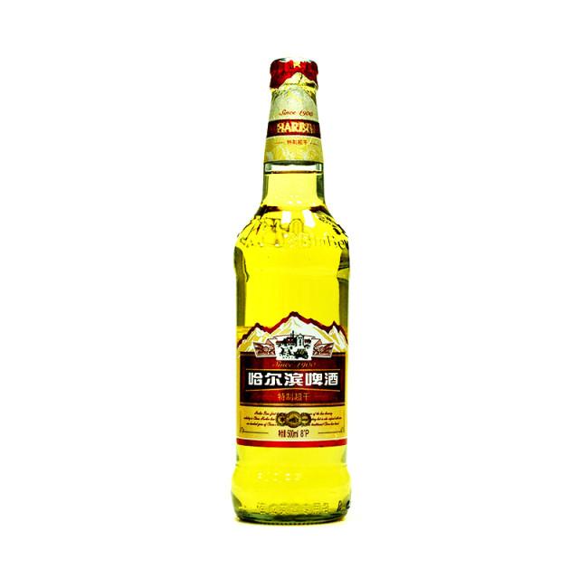 哈尔滨特制超干啤酒500ml/瓶