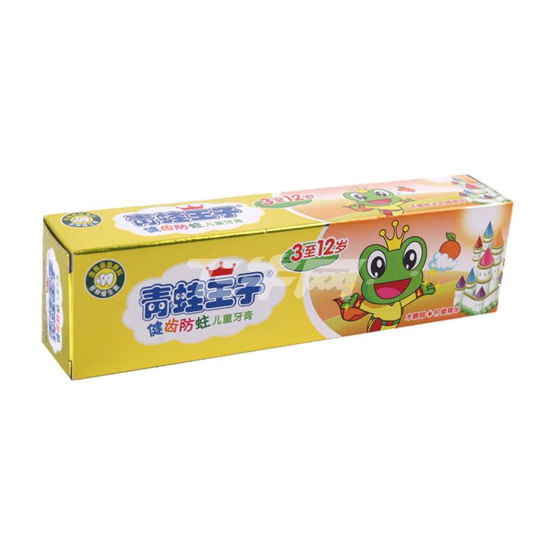 青蛙王子儿童营养水晶牙膏(柠檬)50g【价格