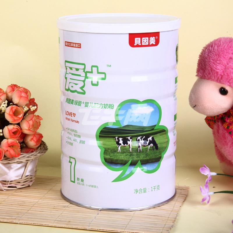 贝因美绿爱+婴儿配方奶粉