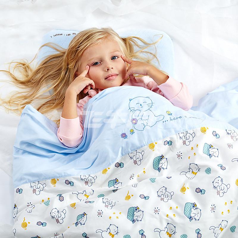 笑巴喜 婴儿被宝宝被婴儿被子空调被儿童被子纯棉新生儿被子 阳光宝贝