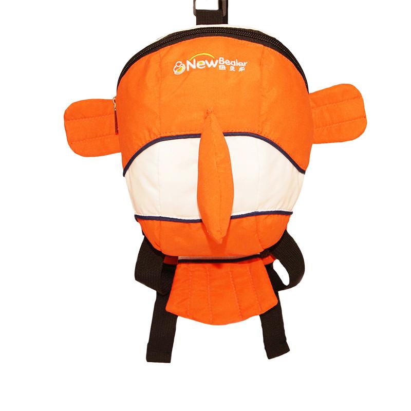 纽贝乐 幼儿宝宝双肩小书包1-3岁儿童男女小孩防走失丢失可爱卡通背包