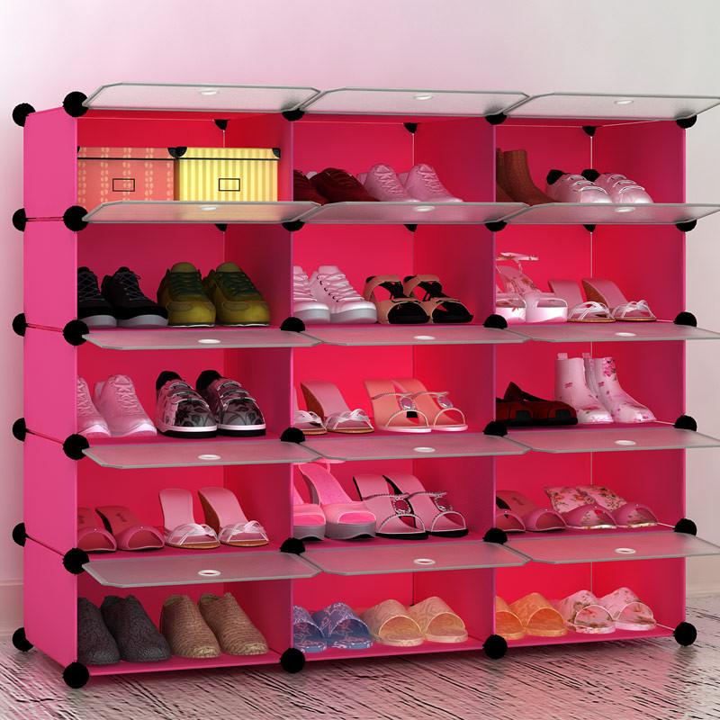 树脂鞋柜的组装步骤图