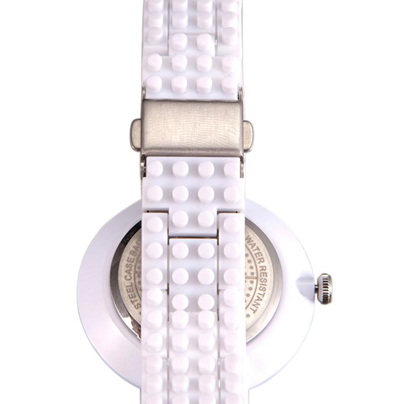 nba手表 正品运动电子表可拆卸乐高积木表带防水女士