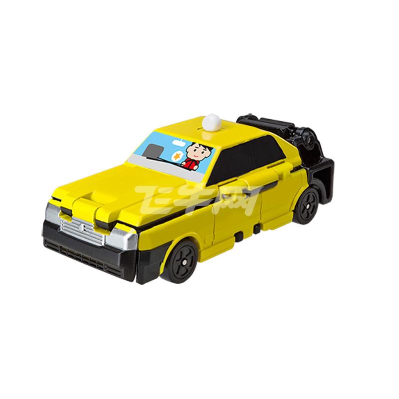 万代 反反变身车-丰田皇冠变身出租车 e74072
