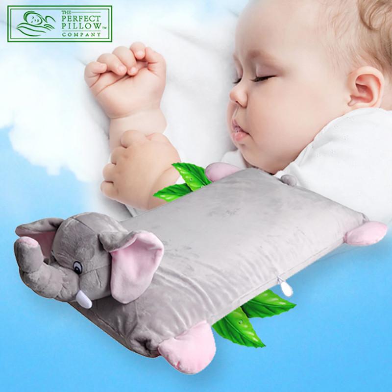 perfect pillow 泰国进口天然乳胶卡通枕头抱枕 小象