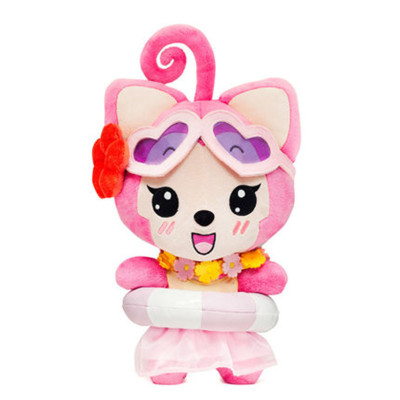 粉色阿狸桃子壁纸