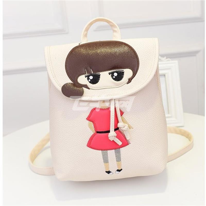 书包旅行包旅游包电脑包登山包2016女包韩版时尚潮流卡通可爱小希迷你