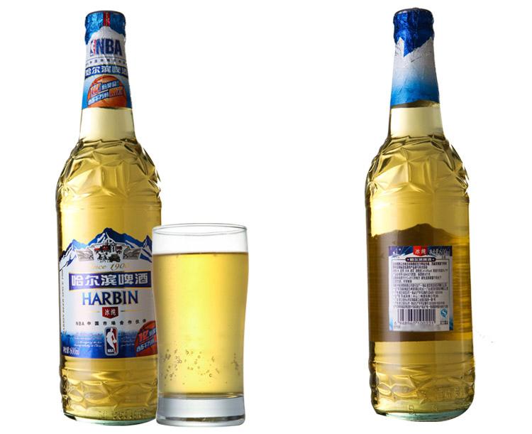 哈尔滨啤酒 小麦王展示