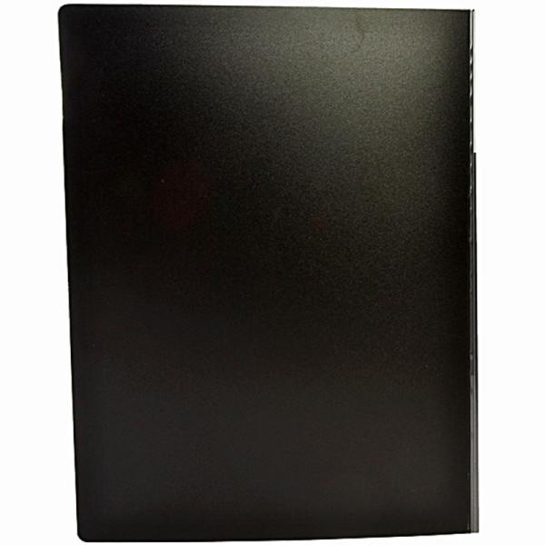 齐心(Comix)超省钱80页资料册 PF80AK-1 A4 黑 配外壳