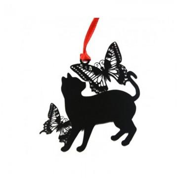 品轩阁 创意书签 可爱萌猫系列 蝴蝶猫 kamm-1606