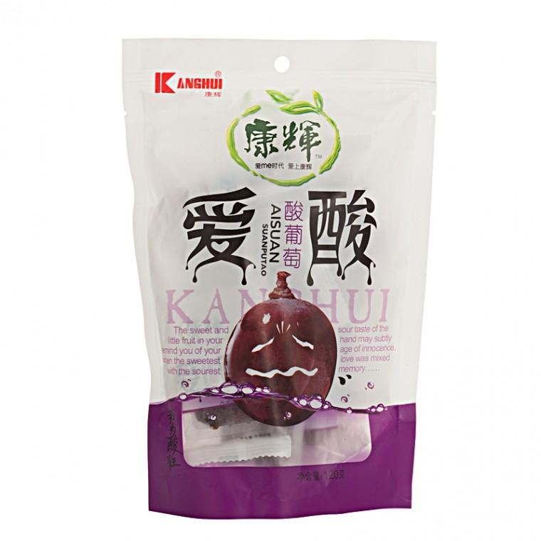 康辉 爱酸酸葡萄 120g/袋