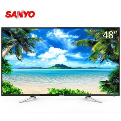 三洋彩电 48ce3410d 48英寸 风行智能 平板电视